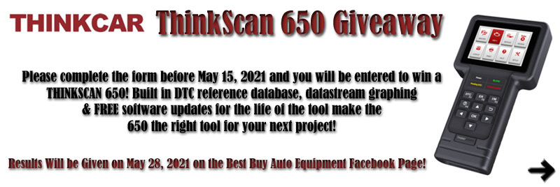 ThinkScan 650 Giveaway