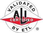 ALI-ETL Certified information