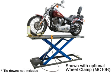 K L Mc500r Hydraulic Motorcycle Lift