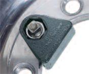Ken-Tool Porkchop Cap Nut SAE Wrench