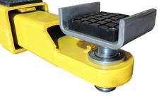 TLT240-SPNCA spin up frame cradle pads