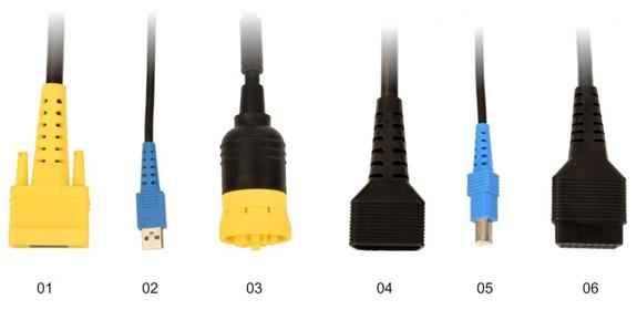 X-431 HD Adapters