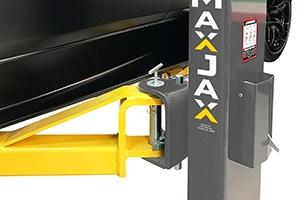 MaxJax M6K Portable Car Lift single-piece columns