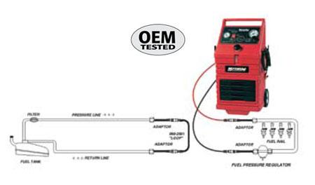MotorVac MCS-245 OEM Tested Diagram