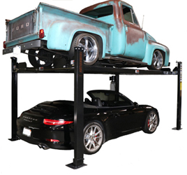 Nationwide NW-4-8K Car Storage Lift 8K lb | 4 Post Parking Lift