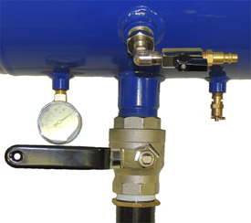 TC-BBT5G Air Gauge Valve and Safety Release Valve