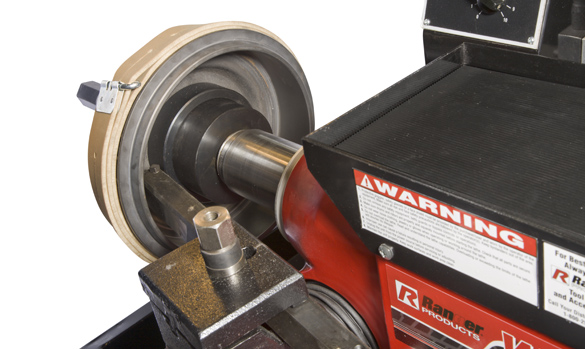 Brake lathes from Ranger rotors to drums