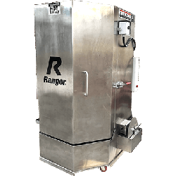 Ranger RS-500DS Stainless Steel Spray Wash Cabinet, Dual-Heaters, Low-Water Shutoff - P/N 5155051