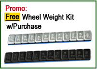 wheel weight kit