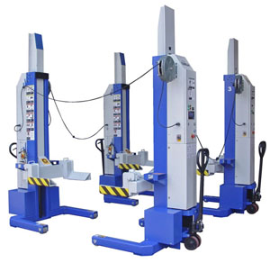 iDeal Lift MSC-13K-B-452 13,200lb. Per Mobile Column Lifting System (Set of 4)