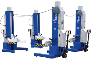 iDeal Lift MSC-18K-X-472 18,000lb. Per Mobile ALI Column Lifting System (Set of 4)