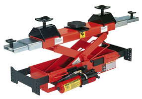 Norco 79324G 3 Ton Capacity Air / Hydraulic Pump Operated Rolling Lift Bridge - Norco-79324G