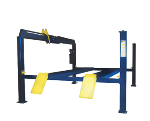Whip Industries WFP12R-E Extended Length Four Post Car Lift 12,000 lb. Capacity