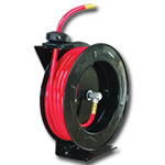 "Astro Pneumatic Automatic Rewind Air Hose Reel w/ 3/8"" x 50' Hose - AST3682"