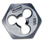 "Hanson High Carbon Steel Hexagon 1"" Across Flat Die 11mm-1.50 HAN6641"