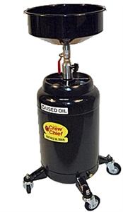 Johndow Industries Jdi 16dc E 16 Gallon Portable Oil Drain