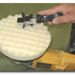 Motor Guard Foam Polishing Pad Cleaning Tool JLMSD-1