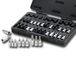 KD Tools 36 Piece Master Torx® Set with Hex Socket Bits KDT80726