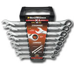 KD Tools 8 Piece SAE XL Combination Ratcheting GearWrench Set KDT85198