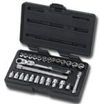KD Tools 1/4 in. Drive 27 Piece GearRatchet Set KDT891427