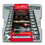 KD Tools 12 Piece Metric Combination Gearwrench Set KDT9412