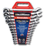KD Tools 13 Piece SAE Reversible GearWrench Set KDT9509