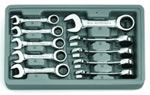 KD Tools 10 Piece Metric Stubby Combination GearWrench Set KDT9520