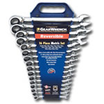 KD Tools 16 Piece Metric Reversible GearWrench Set KDT9602