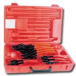 K Tool International 12 Piece Universal Snap Ring Plier Kit KTI55112
