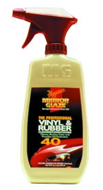 Meguiars M4016 16 oz. Pro Vinyl and Rubber Cleaner/Conditioner - MEGM4016