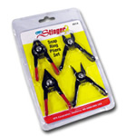 OTC Tools 4 Piece Mini Snap Ring Pliers Set OTC4514