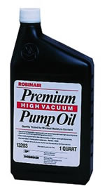Robinair 1 Qt. A/C Premium High Vacuum Pump Oil ROB13203