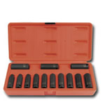 "Sunex 13 Piece 3/8"" Drive 12 Point Metric Deep Impact Socket Set SUN3682"