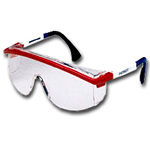 Uvex Clear Lens Patriot Frames Safety Glasses UVXS1169