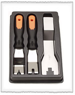 VIM Products 3-Piece Upholstery Tool Set VIMDT6000