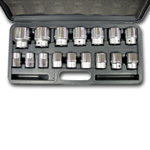 Wilmar 3/4 Drive 16 Piece Metric Socket Set WLMW34906